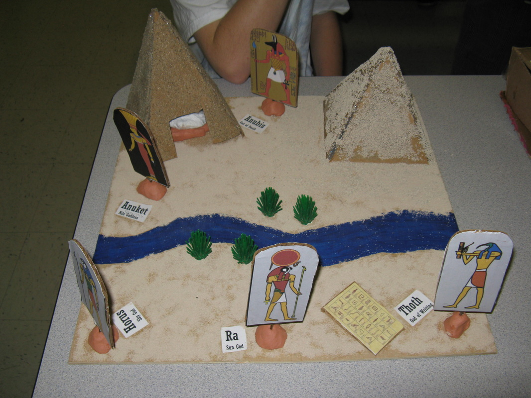 Make Your Own Diorama: Ancient Egypt One Hundred Project